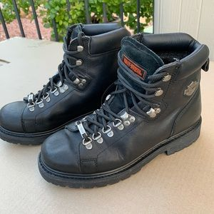Harley Davidson motorcycle boots men's 9